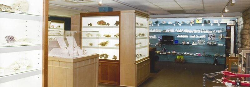mineral shop