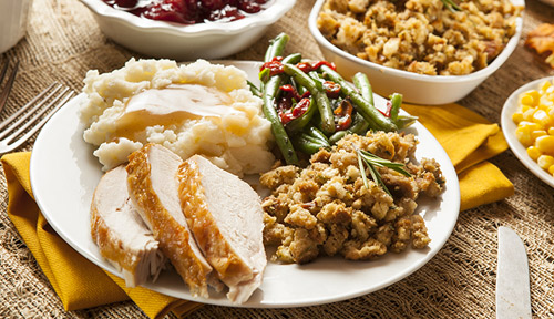 thanksgiving dinner in hendersonville